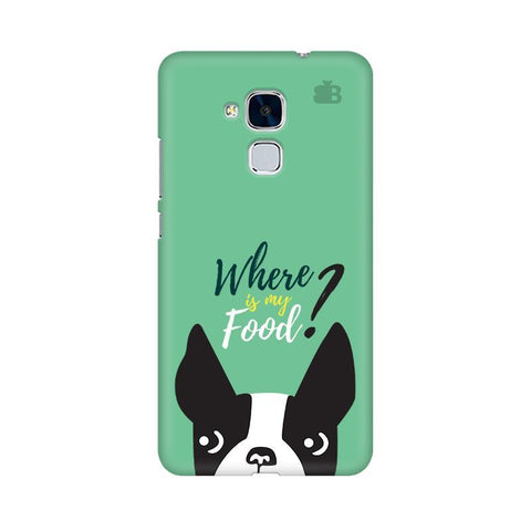 Where is my Food Huawei Honor 5C Phone Cover