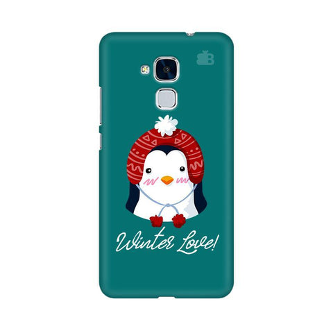 Winter Love Huawei Honor 5C Phone Cover