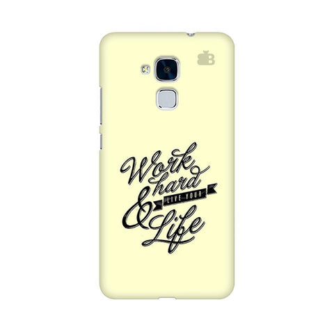 Work Hard Huawei Honor 5C Phone Cover
