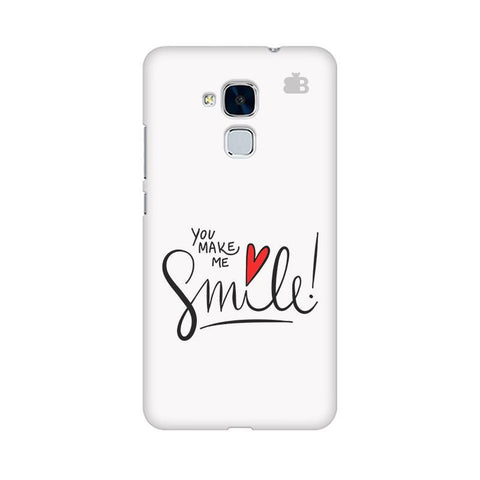You make me Smile Huawei Honor 5C Phone Cover