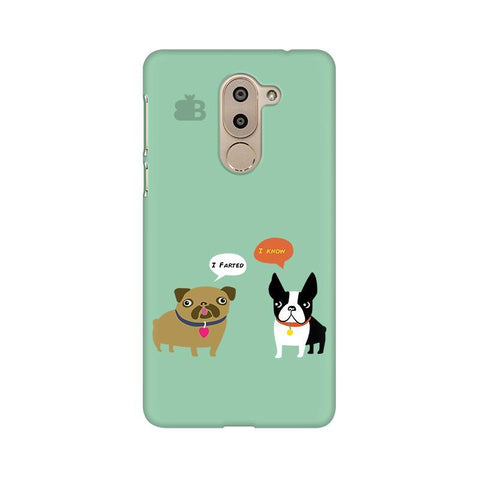 Cute Dog Buddies Huawei Honor 6X Phone Cover