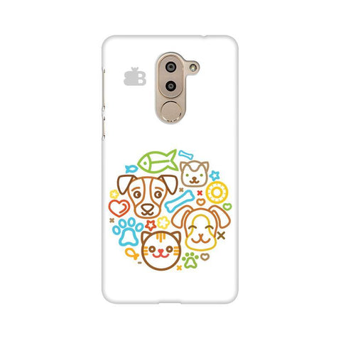 Cute Pets Huawei Honor 6X Phone Cover