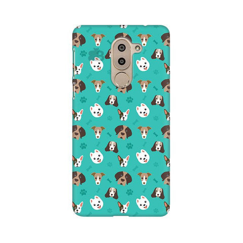 Doggie Pattern Huawei Honor 6X Phone Cover