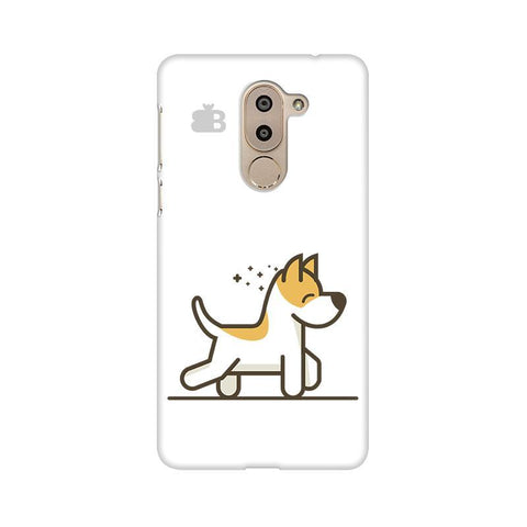 Happy Puppy Huawei Honor 6X Phone Cover
