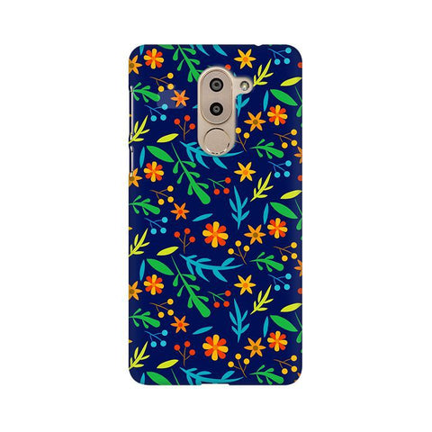 Vibrant Floral Pattern Huawei Honor 6X Phone Cover