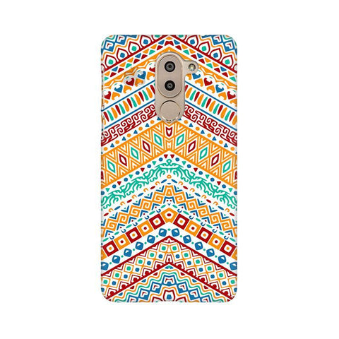 Wavy Ethnic Art Huawei Honor 6X Phone Cover