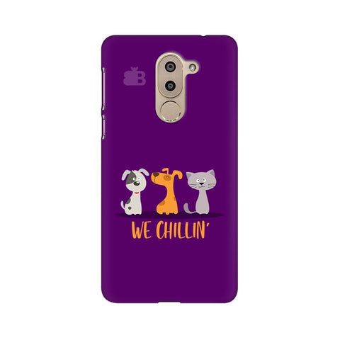 We Chillin Huawei Honor 6X Phone Cover