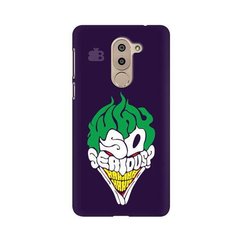 Why So Serious Huawei Honor 6X Phone Cover