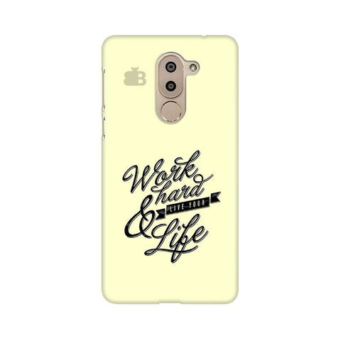 Work Hard Huawei Honor 6X Phone Cover