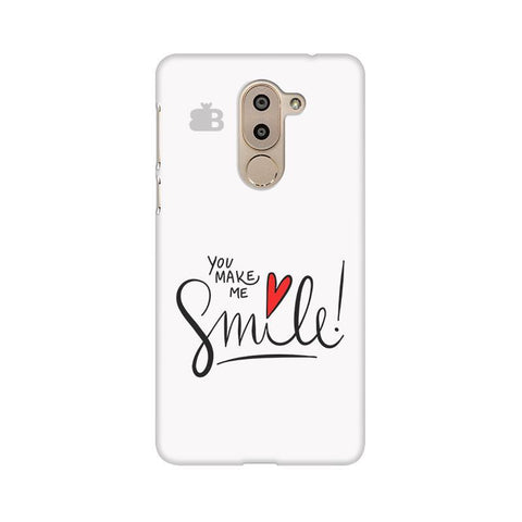 You make me Smile Huawei Honor 6X Phone Cover