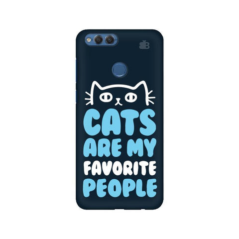 Cats favorite People Huawei Honor 7X Phone Cover
