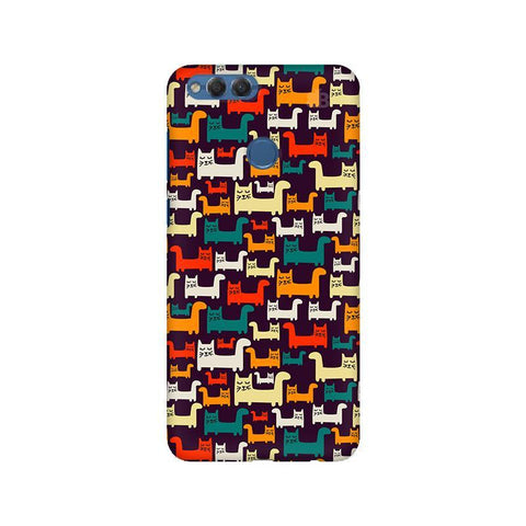 Chill Cats Huawei Honor 7X Phone Cover