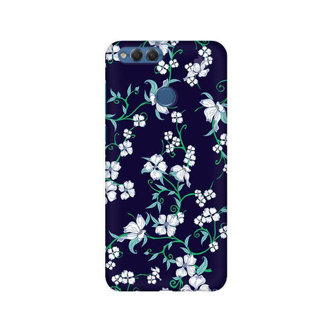Dogwood Floral Pattern Huawei Honor 7X Phone Cover