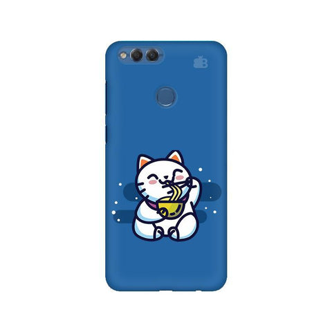 KItty eating Noodles Huawei Honor 7X Phone Cover