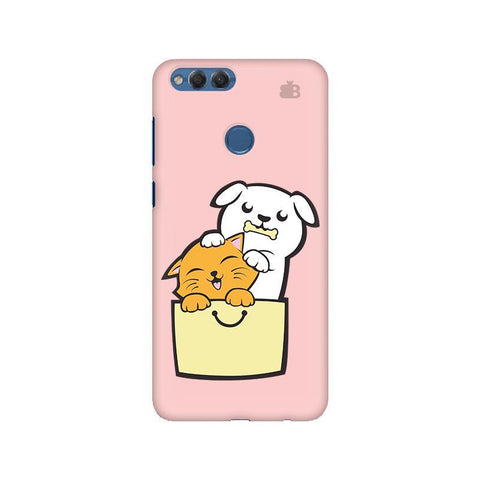 Kitty Puppy Buddies Huawei Honor 7X Phone Cover