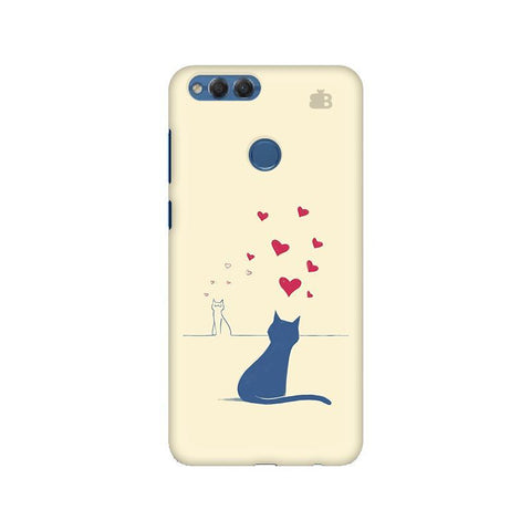 Kitty in Love Huawei Honor 7X Phone Cover