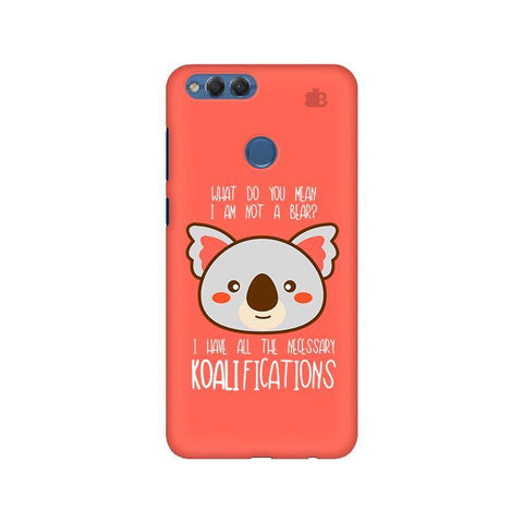 Koalifications Huawei Honor 7X Phone Cover
