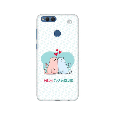 Meow You Forever Huawei Honor 7X Phone Cover