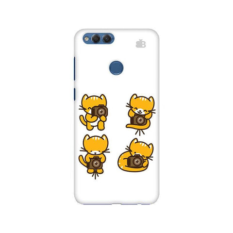 Photographer Kitty Huawei Honor 7X Phone Cover