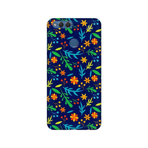 Vibrant Floral Pattern Huawei Honor 7X Phone Cover