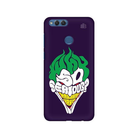 Why So Serious Huawei Honor 7X Phone Cover