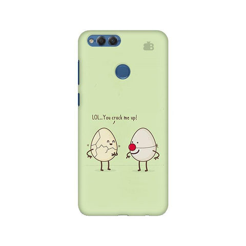 You Crack me up Huawei Honor 7X Phone Cover