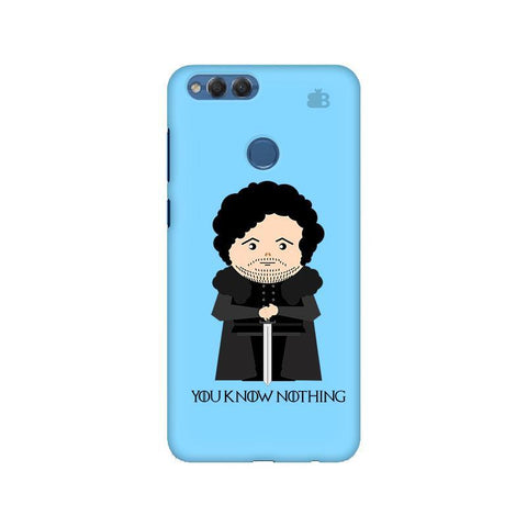 You Know Nothing Huawei Honor 7X Phone Cover
