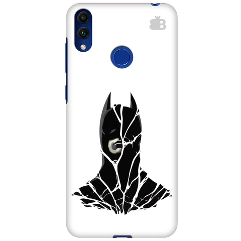 Cracked Superhero Huawei Honor 8C Cover