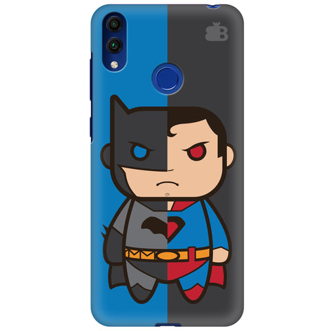 Cute Superheroes Annoyed Huawei Honor 8C Cover