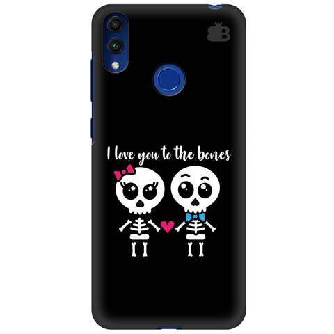 Love to the Bones Huawei Honor 8C Cover