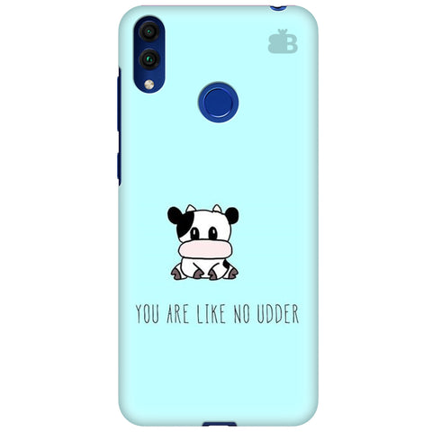 No Udder Huawei Honor 8C Cover