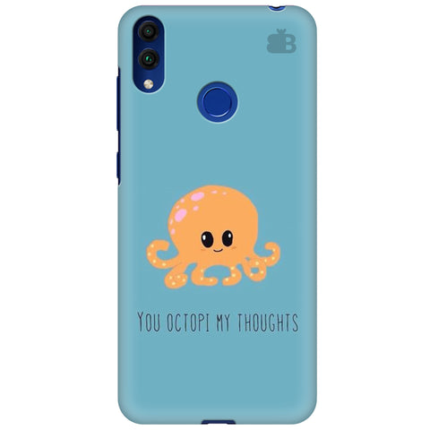 Octopi Thoughts Huawei Honor 8C Cover