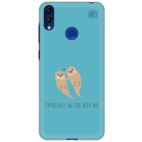 Otterly Love Huawei Honor 8C Cover
