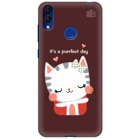 Purrfect Day Huawei Honor 8C Cover