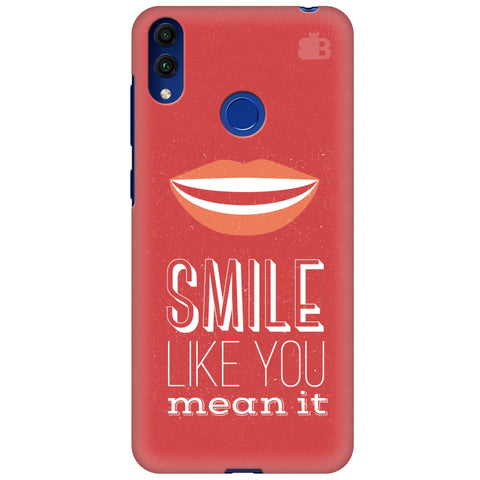 Smile Huawei Honor 8C Cover