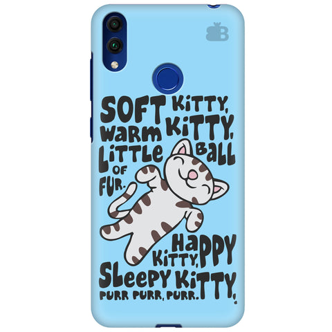 Soft Kitty Huawei Honor 8C Cover