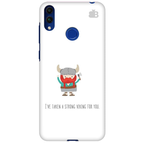 Strong Viking Huawei Honor 8C Cover