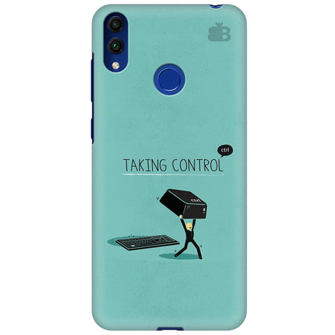Taking Control Huawei Honor 8C Cover