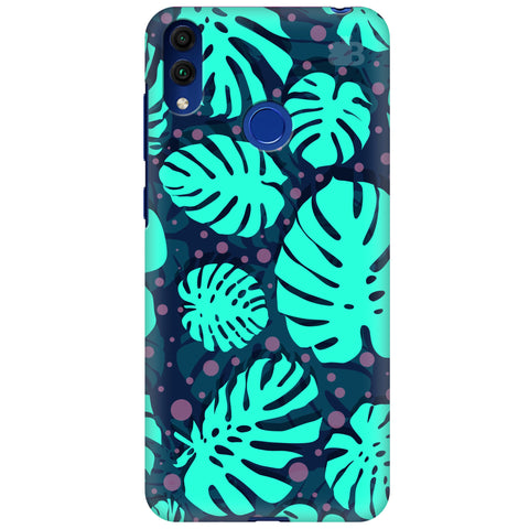 Tropical Leaves Pattern Huawei Honor 8C Cover