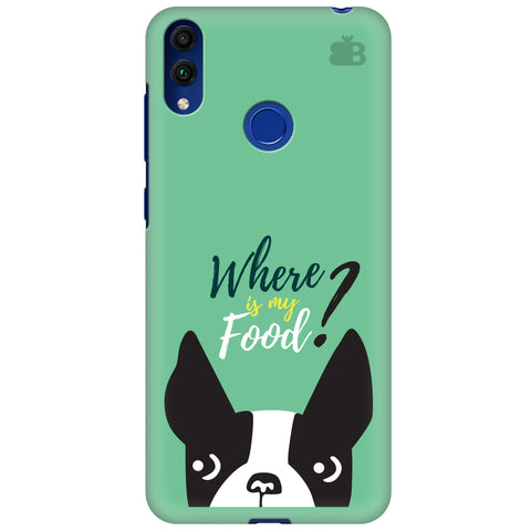 Where is my Food Huawei Honor 8C Cover