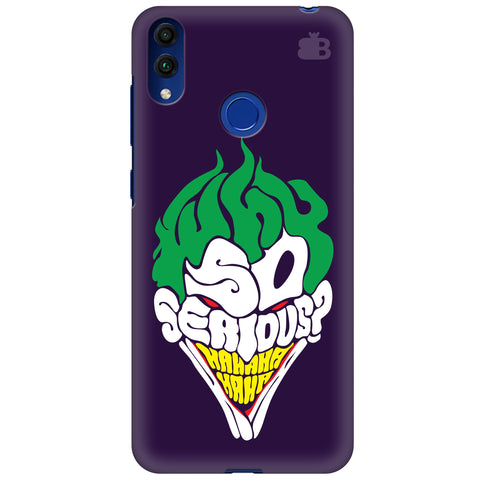 Why So Serious Huawei Honor 8C Cover
