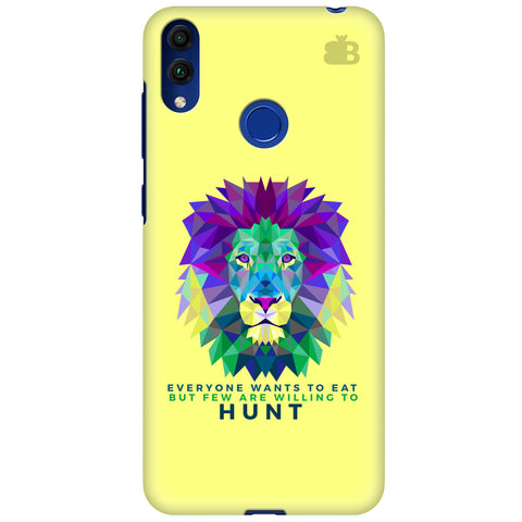 Willing to Hunt Huawei Honor 8C Cover