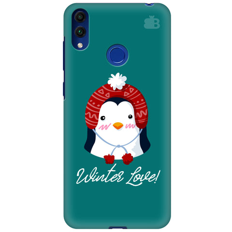 Winter Love Huawei Honor 8C Cover