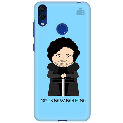 You Know Nothing Huawei Honor 8C Cover