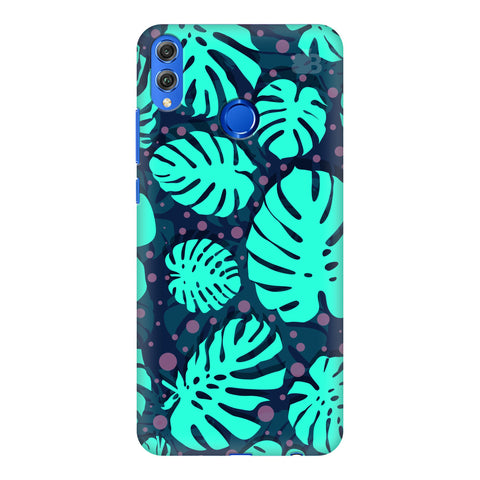 Tropical Leaves Pattern Huawei Honor 8X Cover