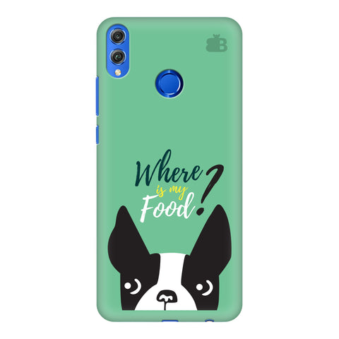 Where is my Food Huawei Honor 8X Cover