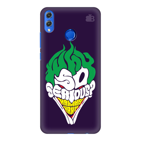 Why So Serious Huawei Honor 8X Cover