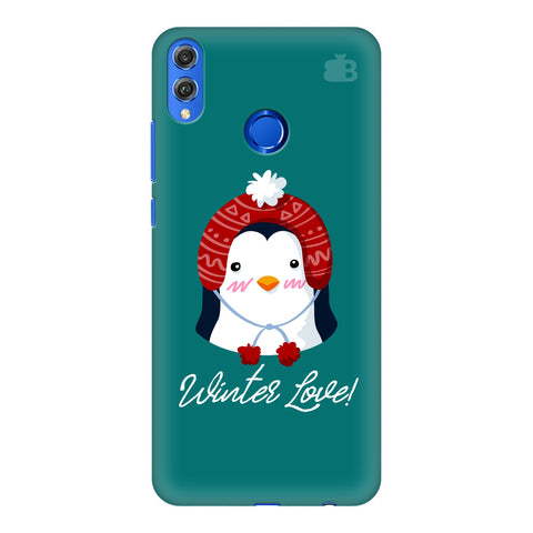 Winter Love Huawei Honor 8X Cover