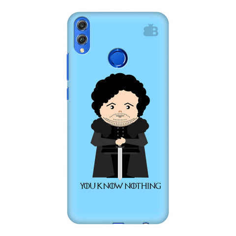 You Know Nothing Huawei Honor 8X Cover