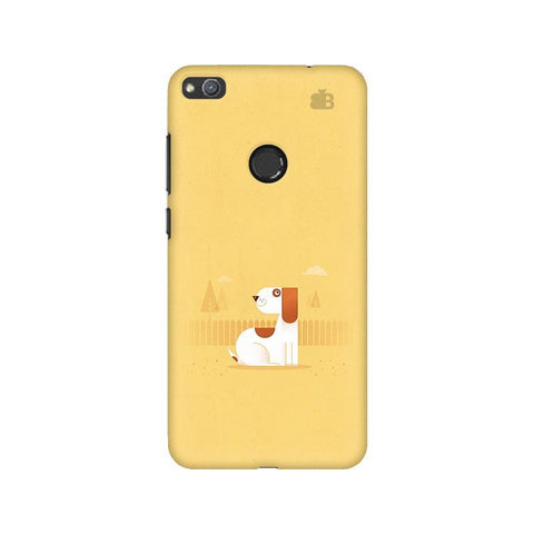 Calm Dog Huawei Honor 8 Lite Phone Cover
